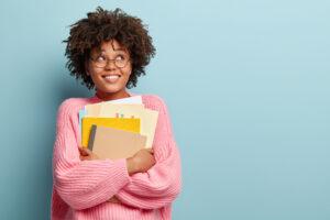 Reactored opiskelija student smiling